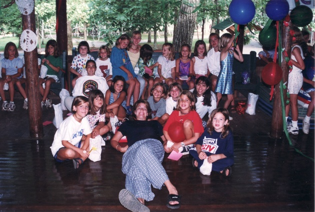 Christmas in July at Camp Skyline in the 90's